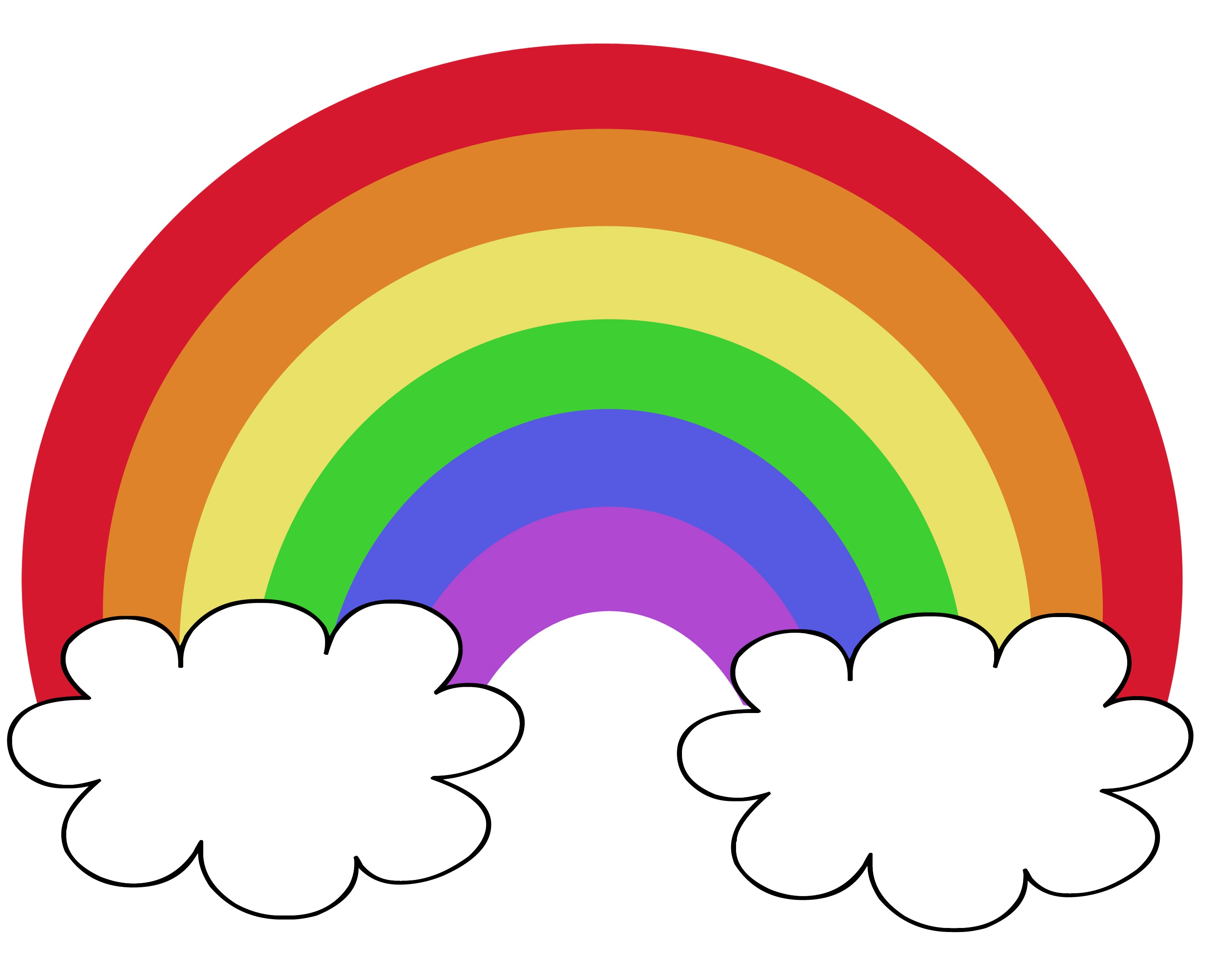 Color The Rainbow - Liz On Call - Free Rainbow Printables