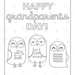 Coloring: 43 Grandparents Coloring Pages Image Ideas.   Grandparents Certificate Free Printable