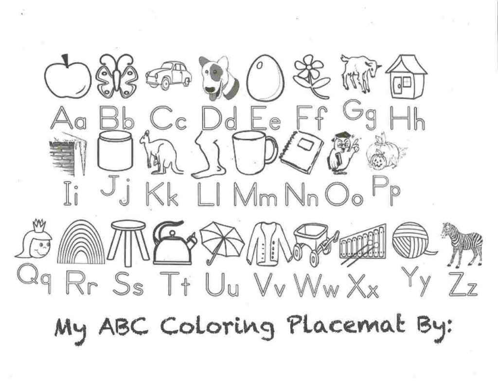 Coloring Book World ~ Alphabet Coloring Pages Preschool Calligraphy - Free Printable Alphabet Coloring Pages
