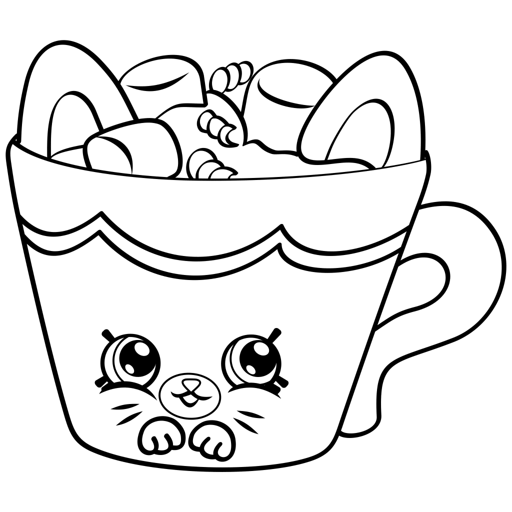 Coloring Book World ~ Amazing Shopkins Coloring Sheets Free Pages - Free Shopkins Coloring Printables