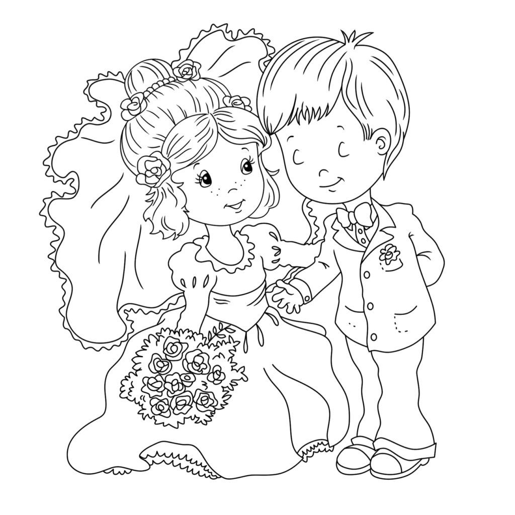 Coloring Book World ~ Coloring Book World Fabulous Printable Wedding - Free Printable Personalized Wedding Coloring Book