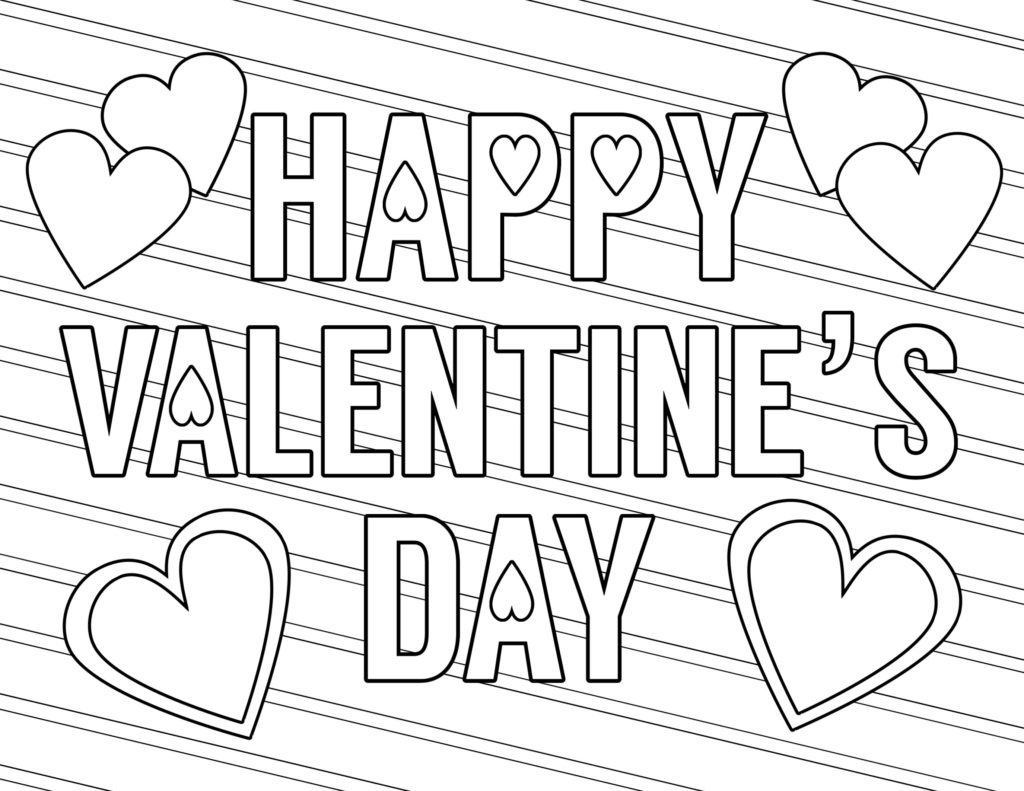 Coloring Book World ~ Free Printable Valentine Cards For Adults - Free Valentine Colouring Printables