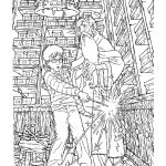 Coloring Book World ~ Harry Potter Coloring Game For Kids Pictures   Free Printable Harry Potter Coloring Pages