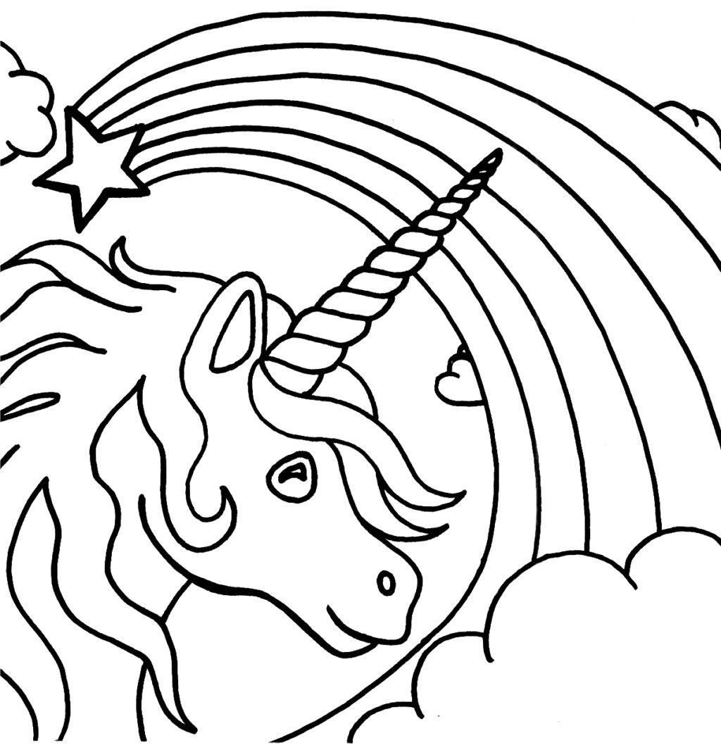 Coloring Book World ~ Unicorn Coloring Pages Pictures Of Love Kids - Free Printable Coloring Pages