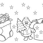 Coloring ~ Christmas Stocking To Colorree Printable Coloring Pages   Christmas Pictures To Color Free Printable