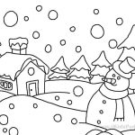Coloring ~ Coloring Pages Winter Free Sheets Realnimal Printable For   Free Printable Winter Coloring Pages