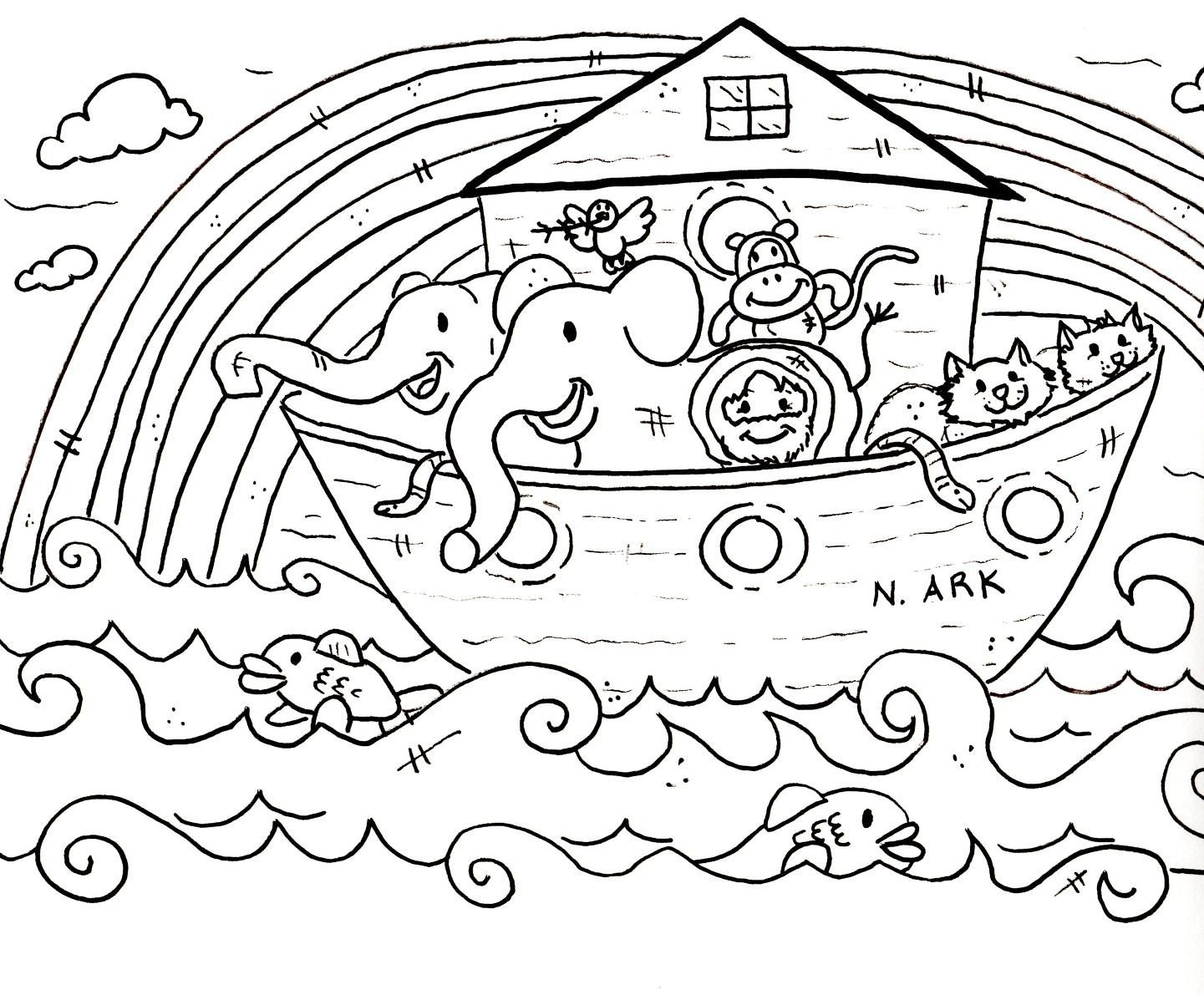 Coloring: Excelent Sunday School Coloring Pages. - Free Printable Sunday School Coloring Pages