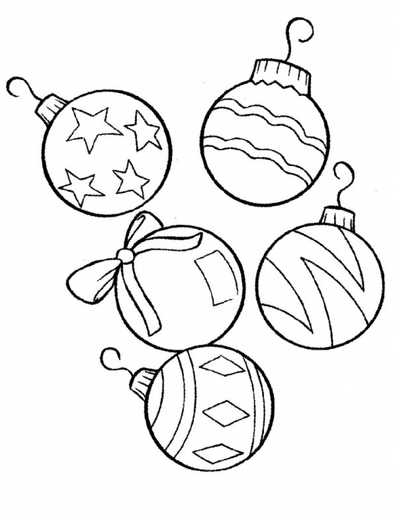 Coloring ~ Fabulous Printable Christmas Ornaments Free Ornament - Free Printable Christmas Tree Ornaments Coloring Pages