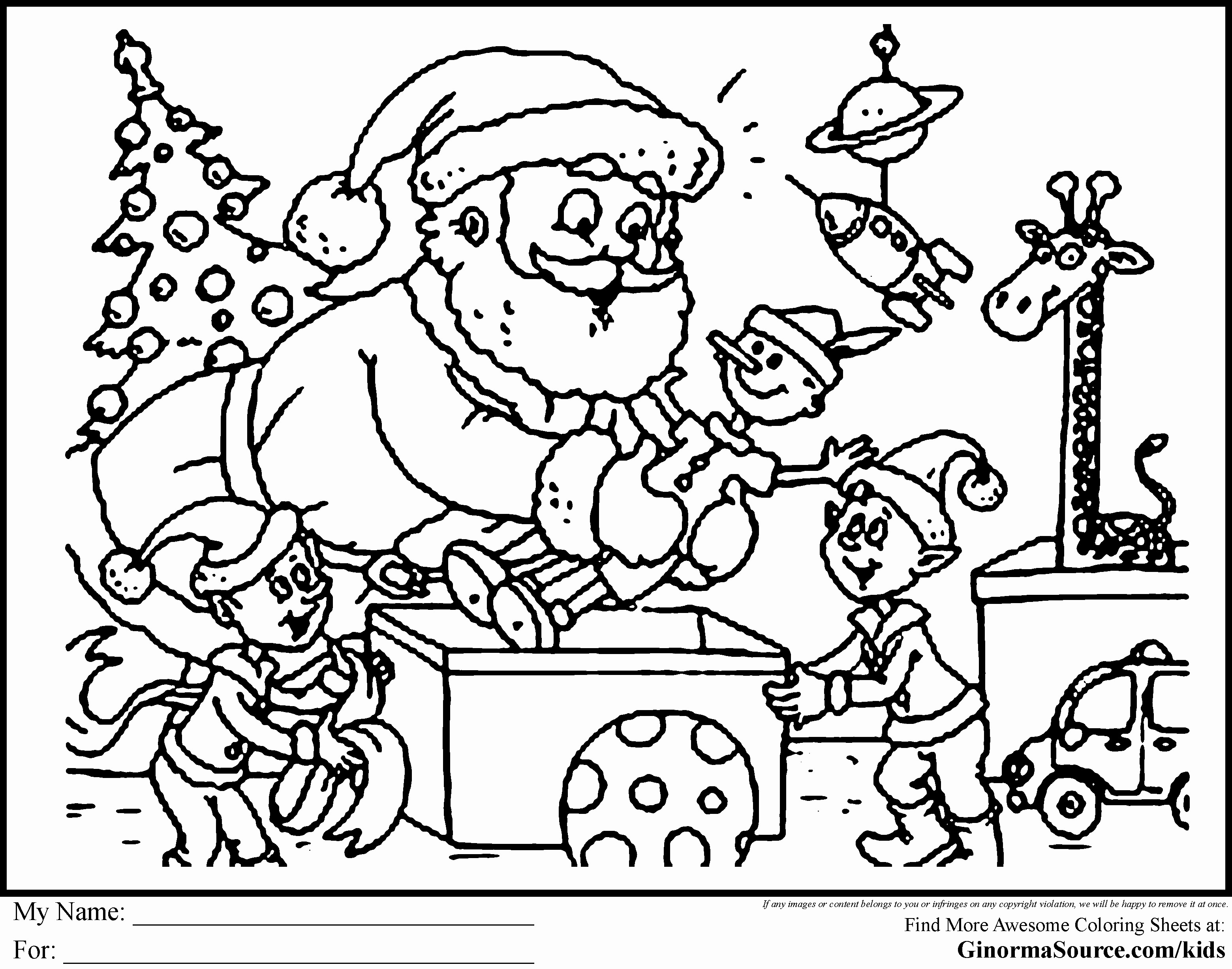 Coloring Ideas : Christmas Coloring For Kids Pages Religious Color - Christmas Pictures To Color Free Printable