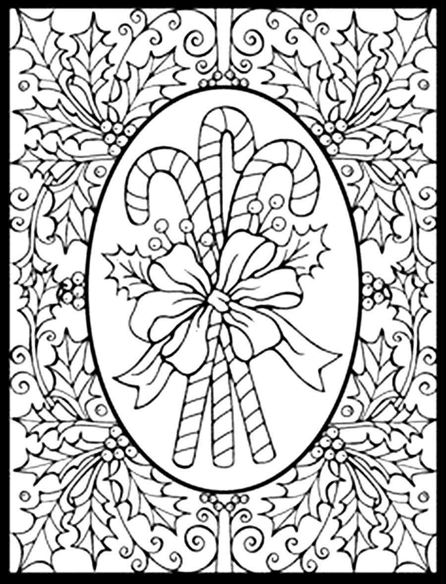 Coloring Ideas : Christmasoloring Pages Pdfoloringges Free Printable - Christmas Pictures To Color Free Printable