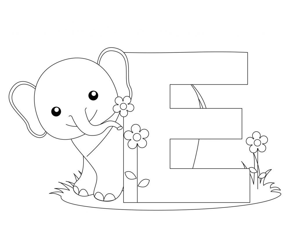 Coloring Ideas : Coloring Ideas Alphabet Colorings Letter Freeable - Free Printable Alphabet Coloring Pages