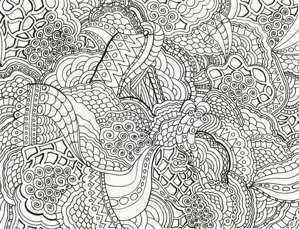 Coloring Ideas : Free Printable Difficult Colorings For Adults Ideas - Free Printable Hard Coloring Pages For Adults