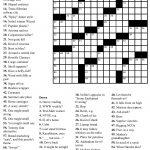 Coloring ~ Large Print Crosswordsthomas Joseph Printable   Free Printable Crossword Puzzles