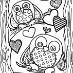 Coloring ~ Owl Coloring Pages Cute Printable To Print Foree Girls   Free Printable Owl Coloring Sheets