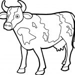 Coloring Page ~ Coloring For Kids Free Printable Pages Cow Lovely   Coloring Pages Of Cows Free Printable