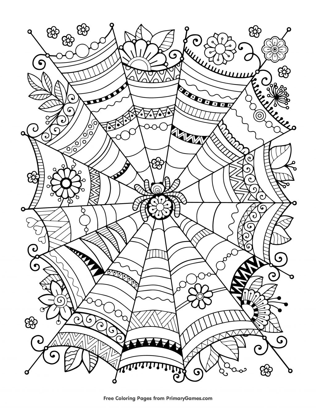 Coloring Page ~ Free Coloring Printables Page Halloween Pages For - Free Coloring Printables