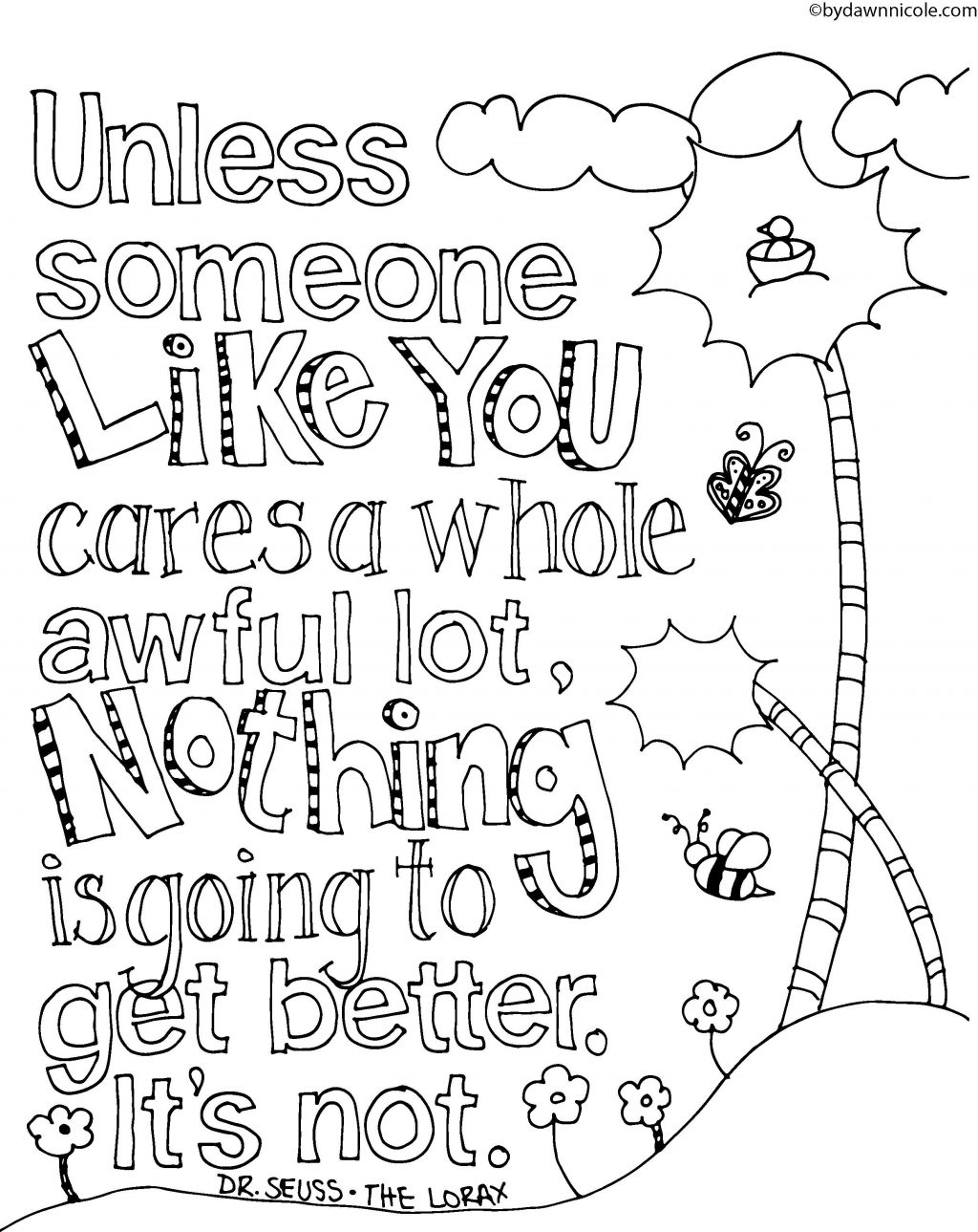 Coloring Page ~ Free Printable Quoteg Pages For Adults Impressive - Free Printable Quotes Pdf