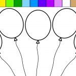 Coloring Pages Balloons With Redgrillo | Coloring Pages   Free Printable Pictures Of Balloons