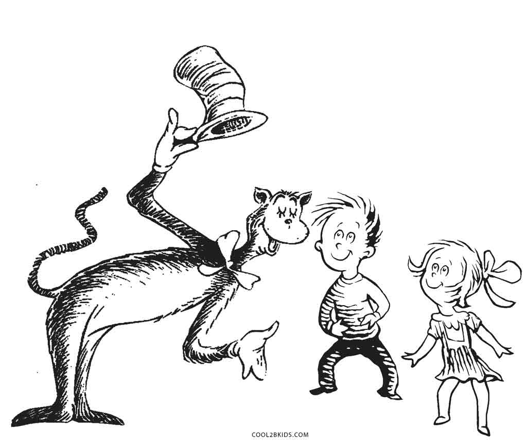 Coloring Pages : Dr Seuss Characters Coloring Pages Character Free - Free Dr Seuss Characters Printables