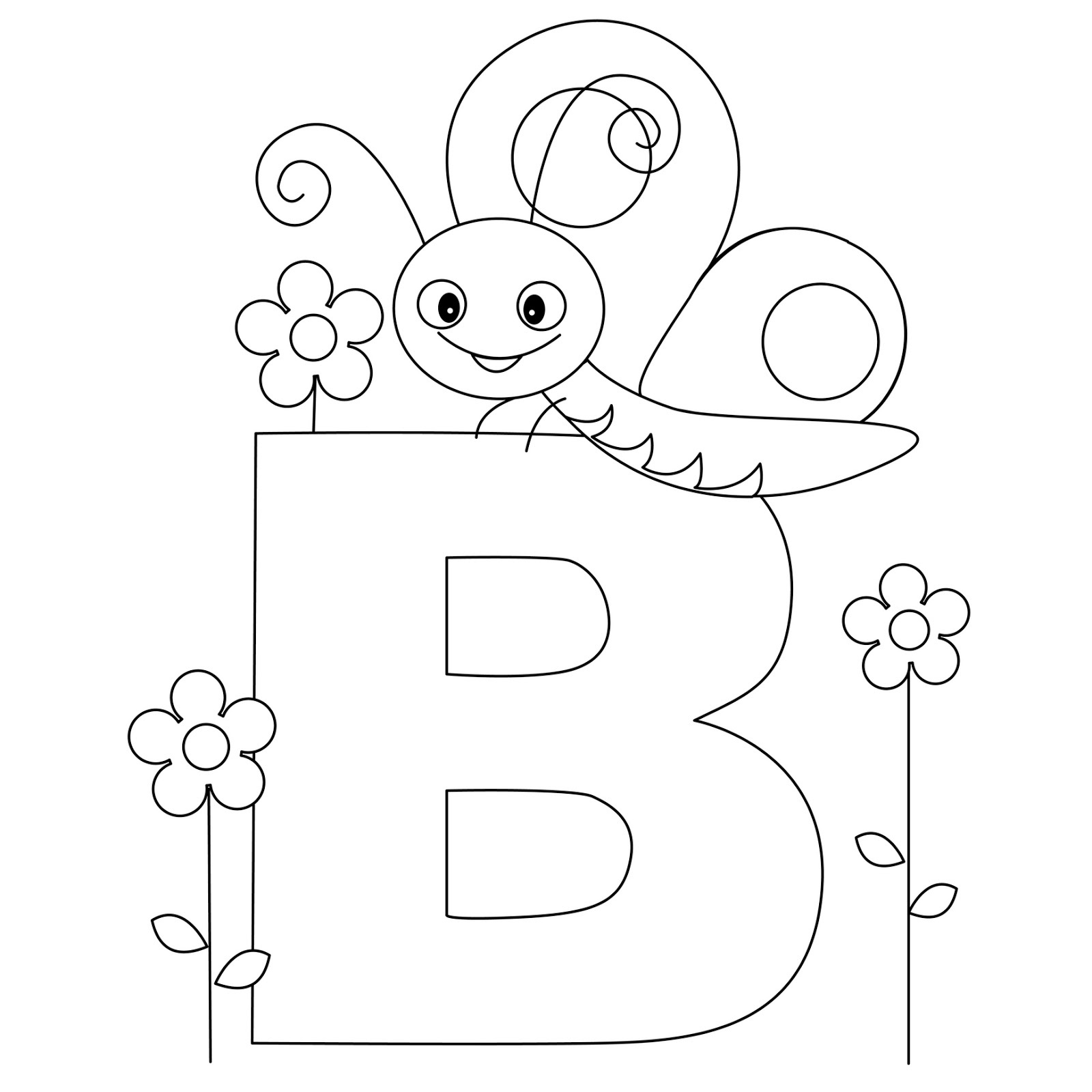 Coloring Pages For Abc - Gmvcontent - Free Alphabet Coloring Printables