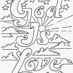 Coloring Pages For Kidsmr. Adron: God Is Love Printable, Free   Free Printable Sunday School Coloring Pages