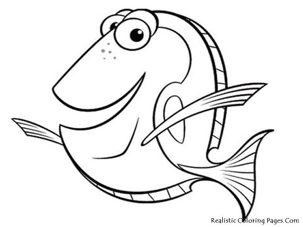 Coloring Pages: Free Printable Fish Coloring Kid Crafts Kindergarten - Free Printable Fish Coloring Pages