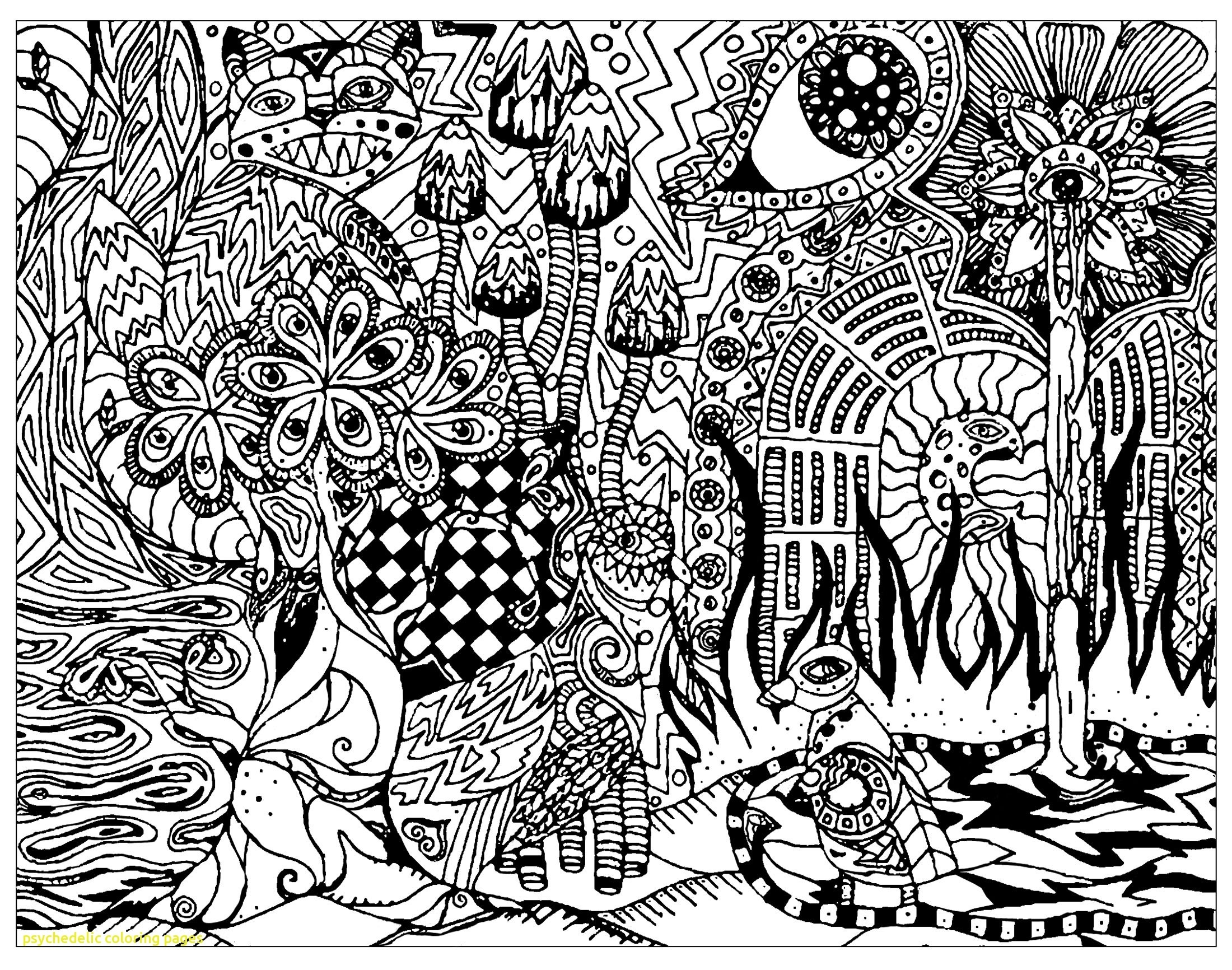 Coloring ~ Trippyoloring Pages Free Printable Stoner Weed With - Free Printable Trippy Coloring Pages