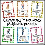 Community Helpers Printable Posters   Teaching Mama   Free Printable Music Posters