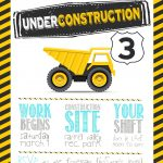 Construction Birthday Party With Free Printable Birthday Party   Free Printable Construction Invitations