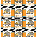 Construction Birthday Party With Free Printables   How To Nest For Less™   Free Printable Birthday Tag Templates