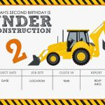 Construction Themed Birthday Party Free Printables | Jacqueline   Free Printable Construction Invitations