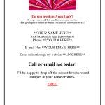 Contact Me Angie Rettig Avon Independent Representative At (941) 822   Free Printable Avon Flyers