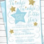 Cool How To Create Twinkle Twinkle Little Star Baby Shower   Free Printable Twinkle Twinkle Little Star Baby Shower Invitations