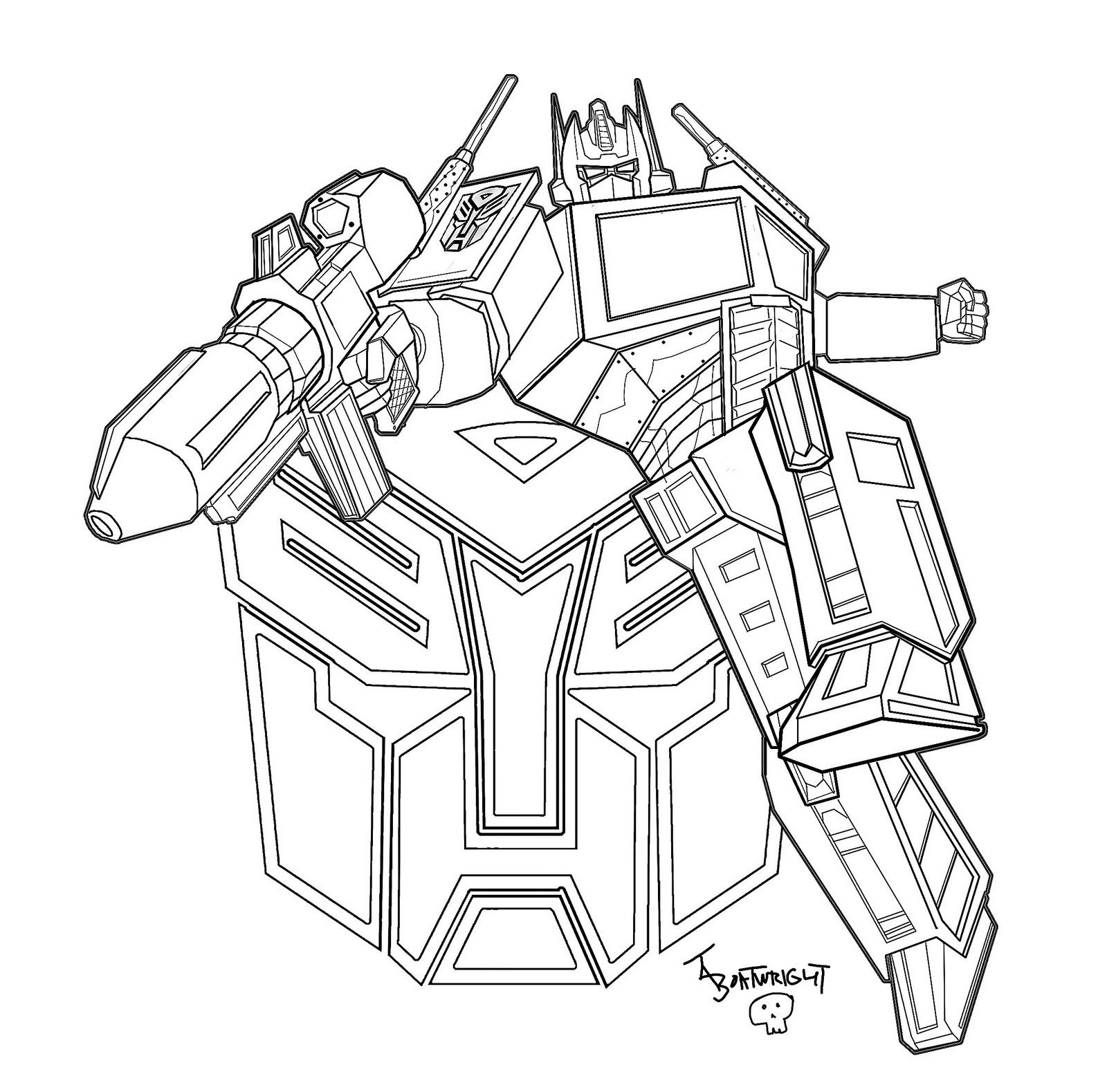 Cool Transformers Coloring Pages For Kids Printable | Coloring Pages - Transformers 4 Coloring Pages Free Printable