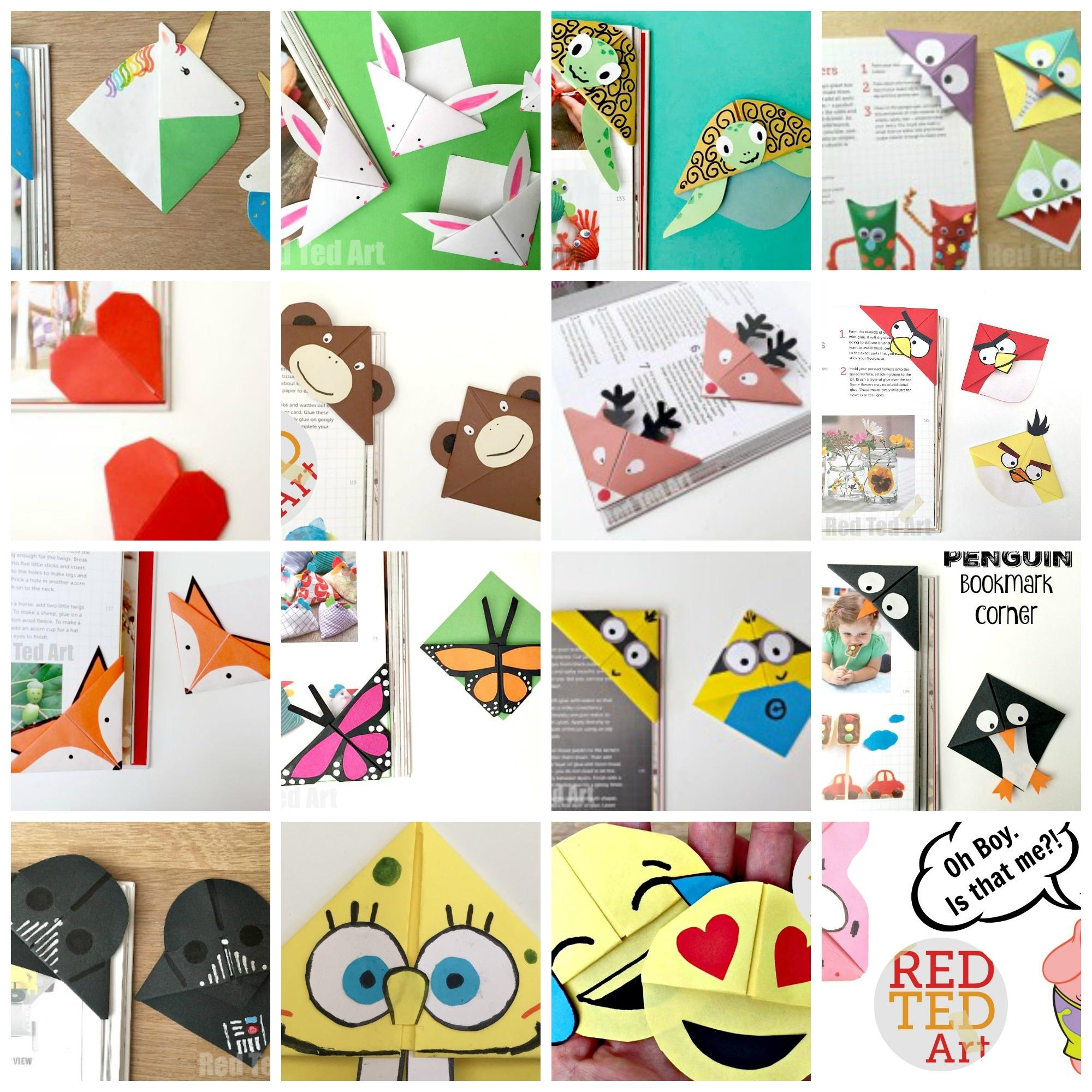 Corner Bookmarks Designs - How Make Origami Bookmark Corners - - Free Printable Dragon Bookmarks
