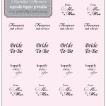 Country Bridal Shower Cupcake Topper {Free} Printable | Perpetually   Free Printable Cupcake Toppers Bridal Shower