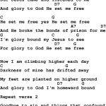 Country, Southern And Bluegrass Gospel Song He Set Me Free Louvin   Gospel Song Lyrics Free Printable