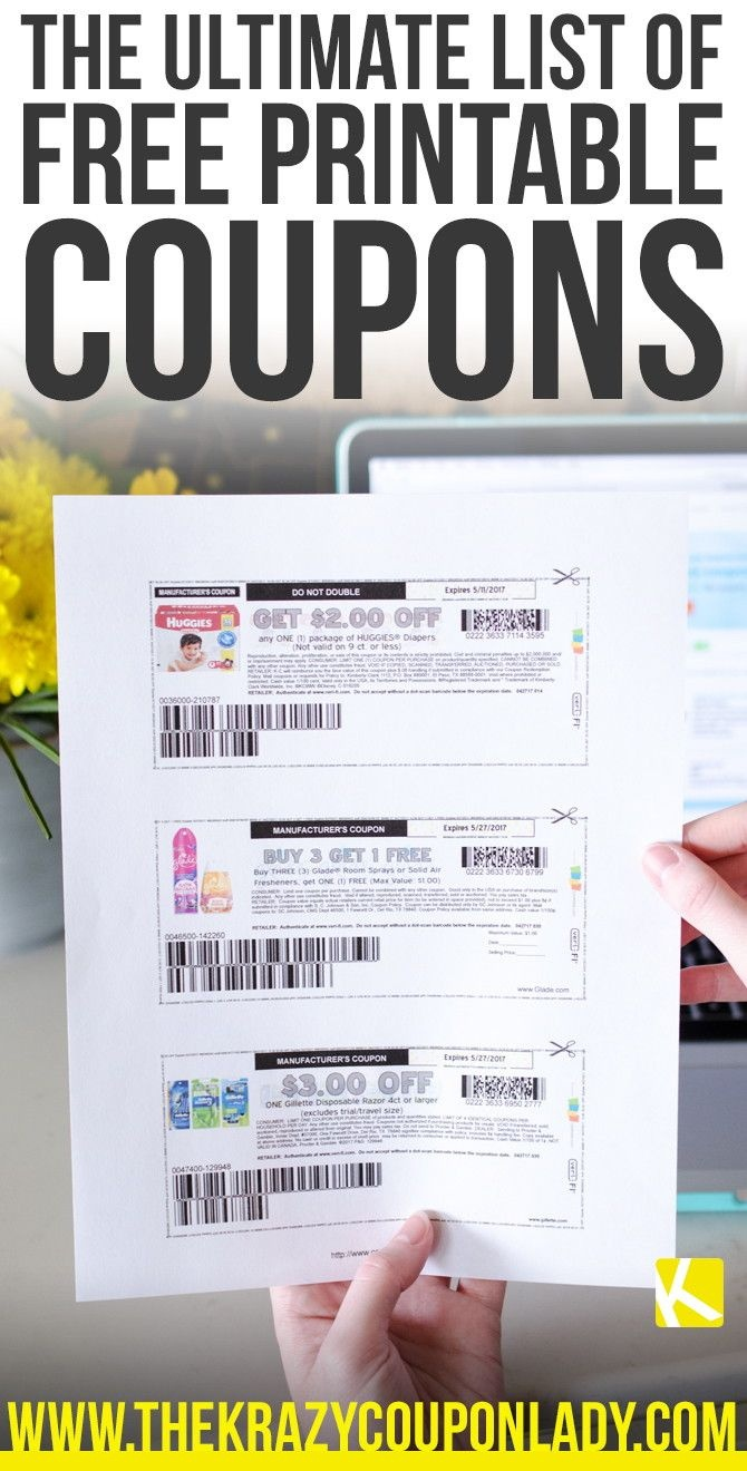 Coupons | Beauty & Style | Free Printable Grocery Coupons, Free - How To Get Free Printable Grocery Coupons