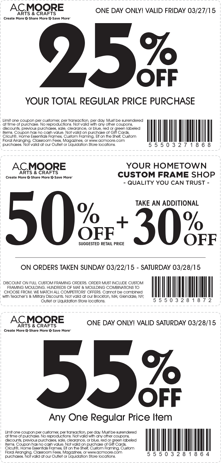 Coupons For Ac Moore Printable : Banners Coupons - Free Online Printable Ac Moore Coupons