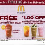Coupons Printable And Mcdonalds Bogo Mcafe Coupon – Rtrs.online   Free Mcdonalds Smoothie Printable Coupon