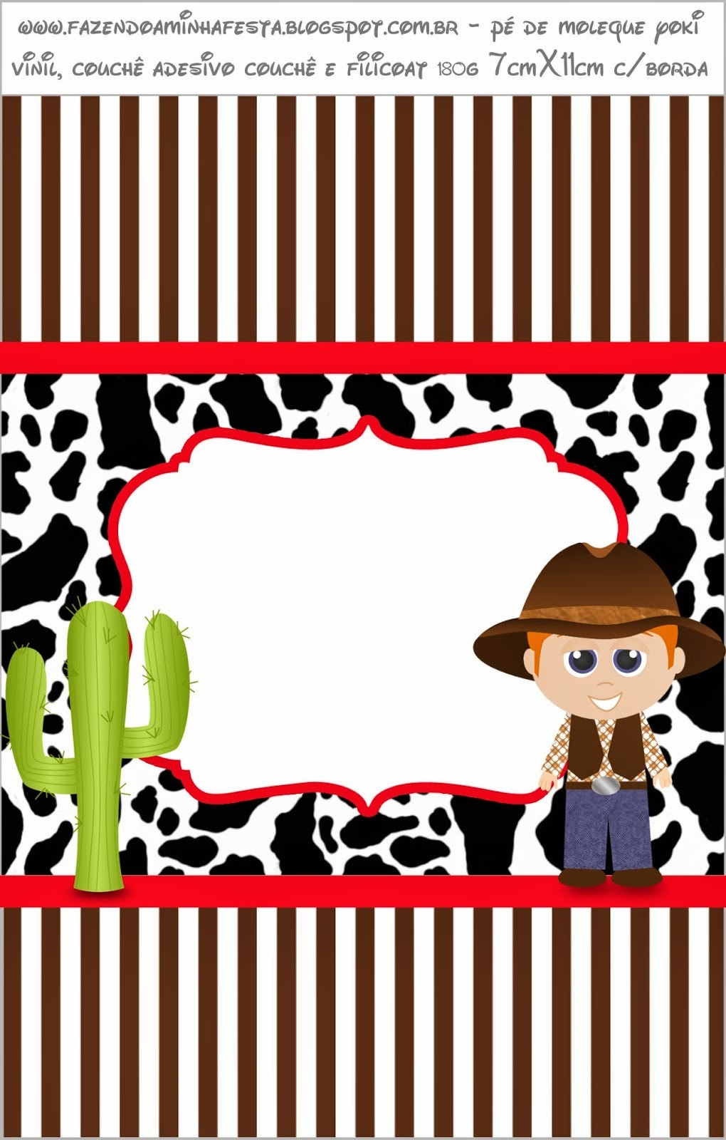 Cowboy Or Western Party: Free Printable Candy Bar Labels. - Oh My - Free Printable Western Labels