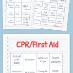 Cpr/first Aid Bingo | Daisies | Free Bingo Cards, Word Bingo, Free   Free Printable Parts Of Speech Bingo