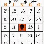 Crafty In Crosby: Free Printable Halloween Bingo Game | Halloween   Free Printable Halloween Bingo Cards