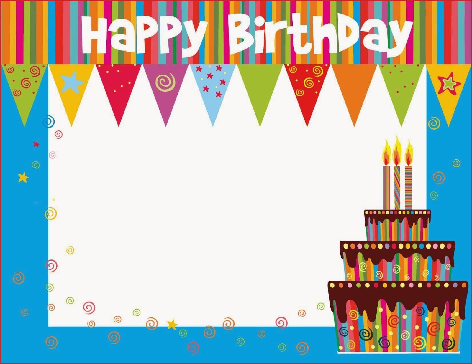 Create Birthday Cards Online Free Printable Birthday Cards Ideas - Free Printable Greeting Card Templates