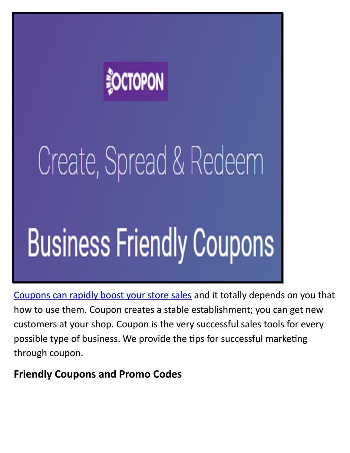 Create Your Own Coupon Free Printableoctopon Inc - Issuu - Create Your Own Coupon Free Printable