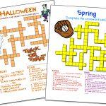 Crossword Puzzle Maker | World Famous From The Teacher's Corner   Crossword Maker Free Printable
