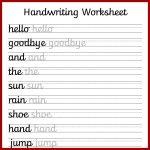 Cursive Handwriting Worksheets – Free Printable! ⋆ Mama Geek   Free Printable Handwriting Worksheets
