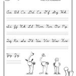 Cursive Writing Worksheet For Ukg Beautiful Cursive Writing – Free Printable Script Writing Worksheets