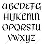 Custom Made Stencils Online | Page 91 | Stencil Letters Org | Fonts   Online Letter Stencils Free Printable