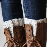 Cute And Easy Crocheted Boot Cuffs | Skip To My Lou   Free Printable Crochet Patterns For Boot Cuffs